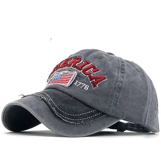 Neue Gewaschen Baumwolle Männer Baseball Caps Flagge Der USA Für Frauen Hut Snapback Stickerei Beiläufige Kappe Casquette Papa Hut Hüfte hop Kappe